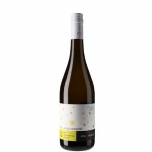 Frizzante Děvín & Muškát moravský – 2018, jemně perlivé víno, bílé, 0,75 l