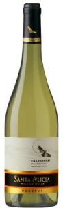 Chardonnay Reserva, «Santa Alicia», 0,75 l