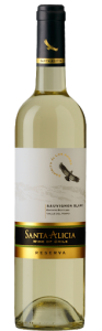 Sauvignon Blanc Reserva, «Santa Alicia», 0,75 l