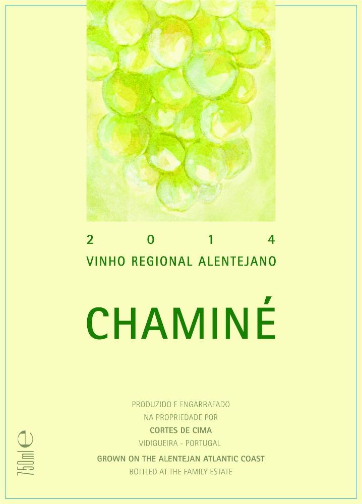 2014 Chamin Branco label