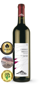 Cabernet Moravia barrique, jakostní víno, Vinařství Kněží Hora, 2013, 0,75l