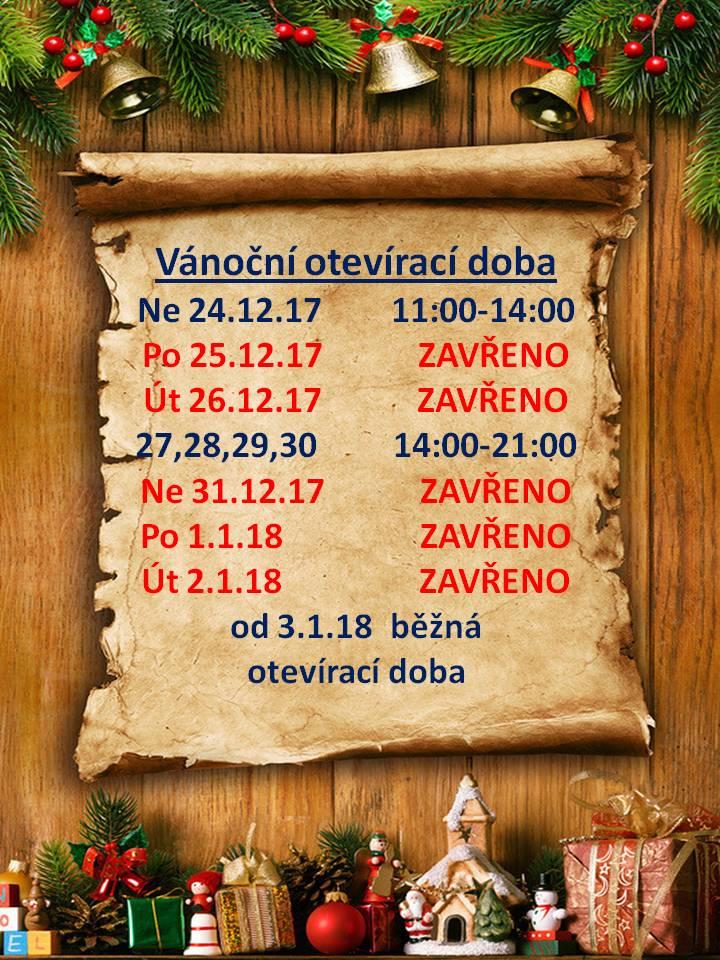 Vánoční otevírací doba_2017