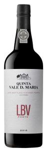 Portské víno Quinta Vale D. Maria, L.B.V. 2015 – nefiltrované, 0,75l